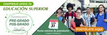 Banner Cooptenjo apoya tu educación superior