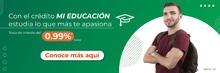 Banner crédito mi educación