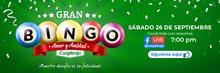 Banner bingo evento