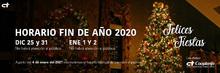 Banner horario fin de año